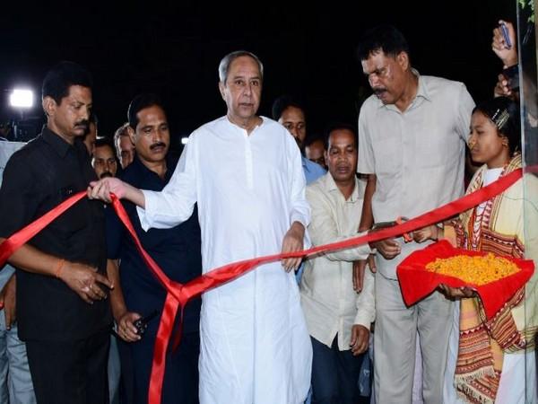 "Chief Minister Naveen Patnaik on Monday inaugurated ""Tribal World Outlet"" (Adisha) in Bhubaneswar. (Photo/ANI)"