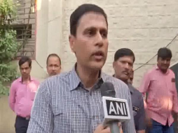 Dr Rajat Kumar, Chief Electoral Officer(CEO) of Telangana while speaking to ANI on Thursday. Photo/ANI