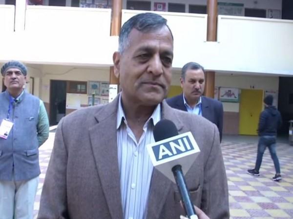 Election Commissioner Ashok Lavasa while speaking to ANI on Saturday (Photo/ANI)