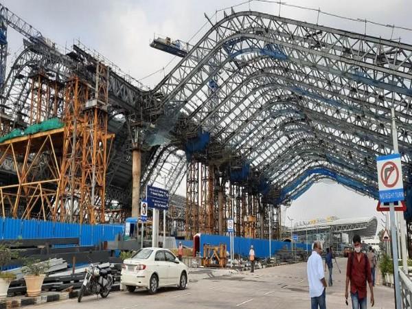 Chennai Airport prepares for a makeover (Photo/ ANI)