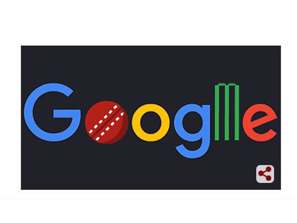 Google Doodle celebrating the start of CWC'19