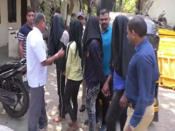 Mumbai police arrested four Bangladeshi nationals on February 12. Photo/ANI