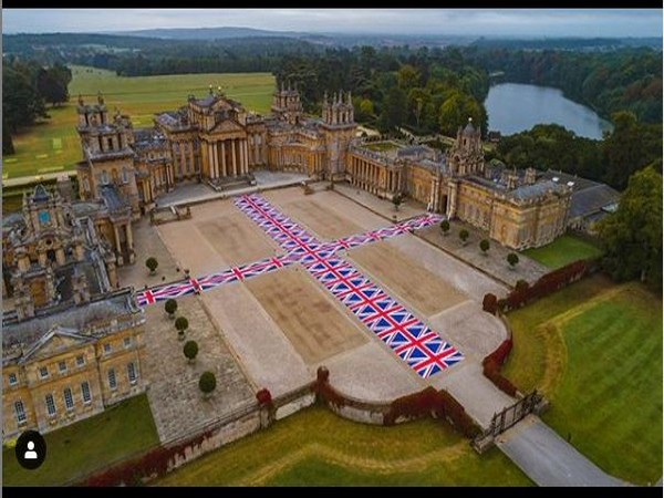 Blenheim Palace in Oxfordshire, England (Image courtesy: Instagram))