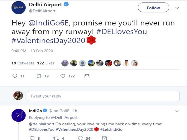 Promise me you'll never run away from my runway: Delhi Airport's heart-filled message to Indigo on V-Day