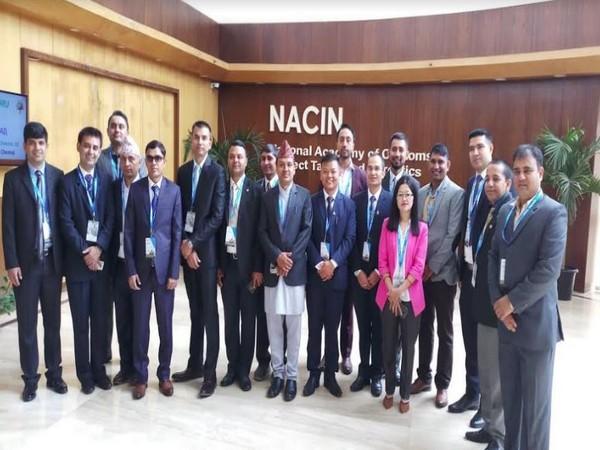Nepali officers begun their training on 'Anti-Money Laundering and Countering Financing of Terrorism' at NACIN, Bengaluru on Monday