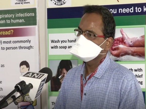 Dr Atul Ambedkar, National Drug Dependence Treatment Centre, AIIMS, New Delhi, speaking to ANI on Wednesday.      Photo/ANI