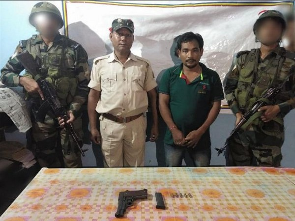A tiger poacher was arrested on Saturday in Dhubri district. Photo/ANI
