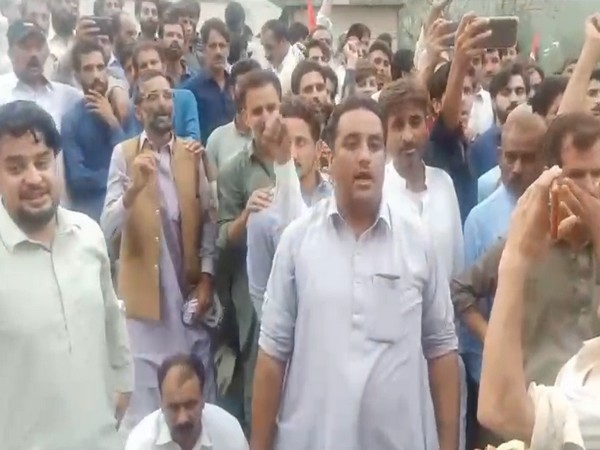 PoK People gather to protest against Pakistan army