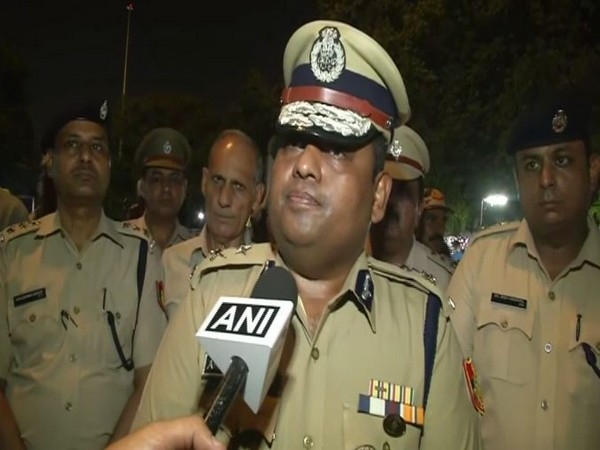 Joint Commissioner of Police Anand Mohan speaking to ANI on Saturday. Photo/ANI