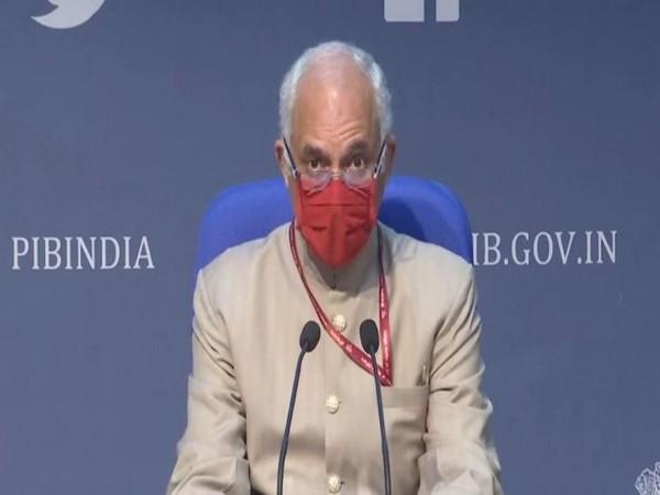 Manohar Agnani, Additional Secretary at the Health Ministry (Photo/ANI)