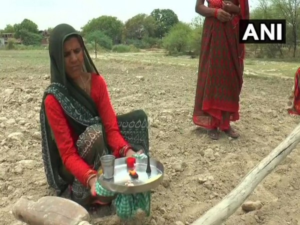 Farmers offered special prayers to please rain god