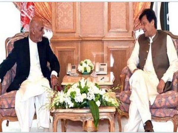 Afghanistan President Ashraf Ghani and Pakisatn Prime Minister