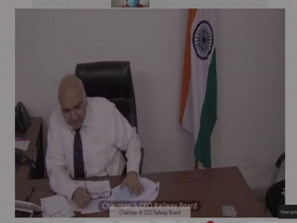 Chairman and CEO, Railway Board Suneet Sharma (Photo/ANI)
