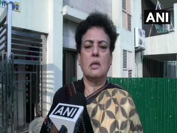 National Commission for Women (NCW) chairperson Rekha Sharma while speaking to ANI on Friday (Photo/ANI)