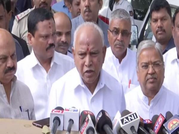 Karnataka Chief Minister BS Yediyurappa (file photo)