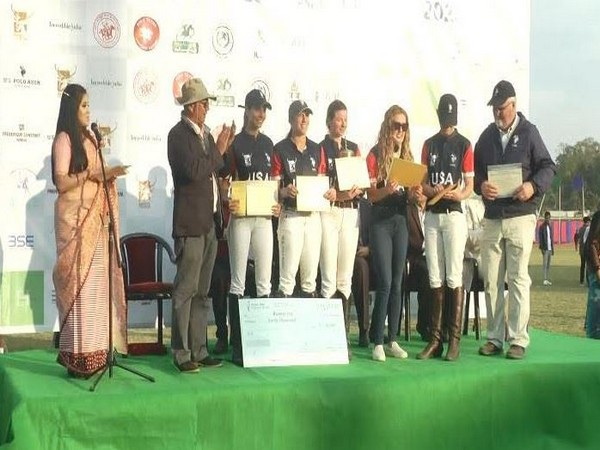 The 5th Manipur Statehood Day Women's Polo Tournament concluded in Imphal (Photo/ANI)