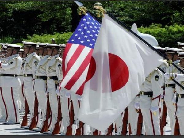 US and Japan flag