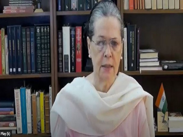 Congress interim President Sonia Gandhi. [File Photo/ANI]