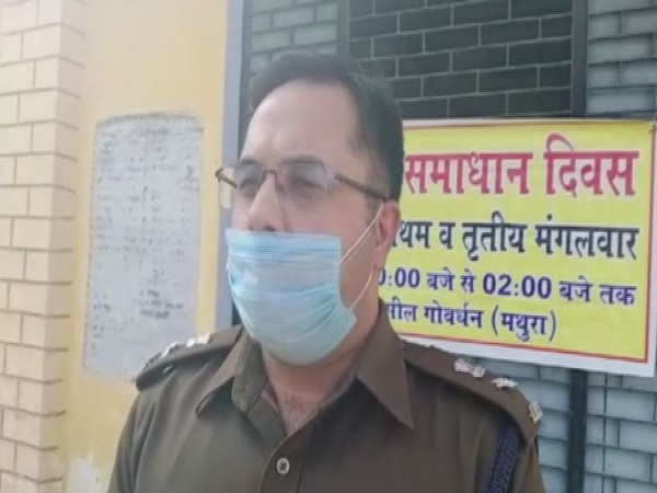Superintendent of Police (SP), Mathura, Gaurav Grover (Photo/ANI)