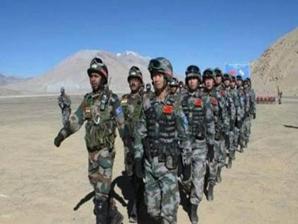 India-China troops on the LAC (File photo)