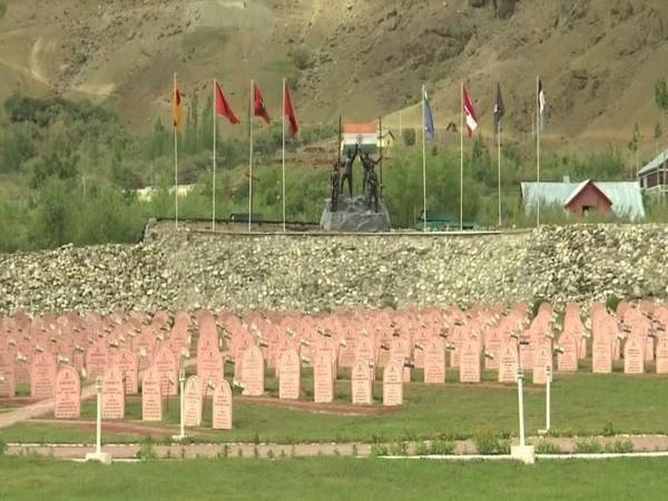A visual from Kargil war memorial in Drass in Jammu and Kashmir. (Photo/ANI)