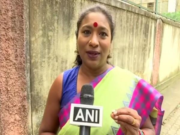 Social activist Brinda Adige speaking to ANI in Bengaluru on Friday. (Photo/ANI)