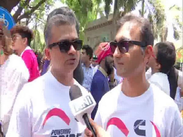 Sameer Samudra and Amit Gokhale expressing their views