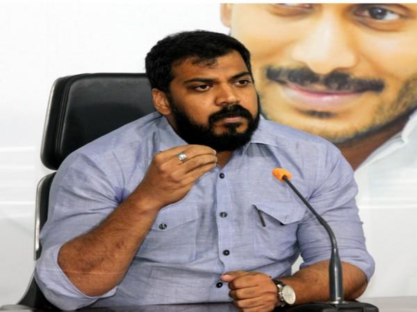 Andhra Pradesh Water Resources Minister P Anil Kumar (Photo/ANI)