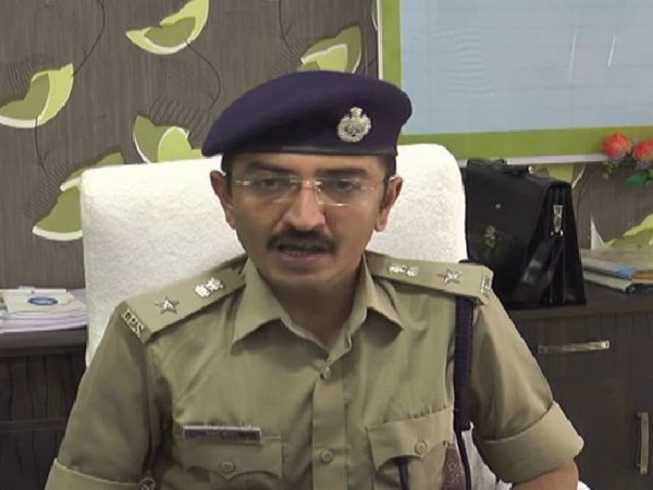 DSP Hitesh Joysar (Photo/ANI)