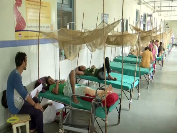 Dehradun witnesses an outbreak of dengue as a result of heavy rainfall in the state. (Photo/ANI)