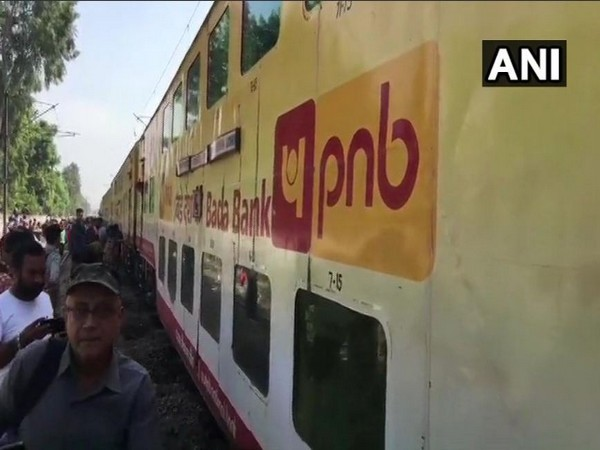 Two coaches of Lucknow-Anand Vihar Double Decker Express derailed on Sunday morning. Photo/ANI