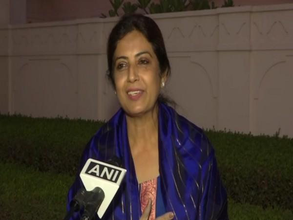 Aparna Reddy speaking to ANI in Punjab on Sunday. Photo/ANI