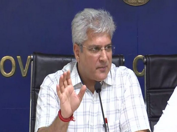 Delhi Transport Minister Kailash Gahlot (Photo/ANI)