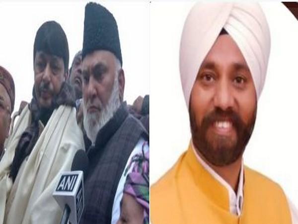 Sitting Aam Aadmi Party (AAP) MLAs Haji Ishraq Khan (L) and Jagdeep Singh (R)