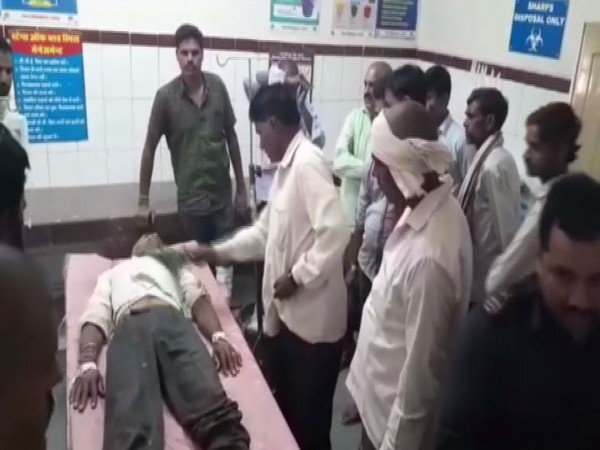 A doctor treated a snakebite patient by performing witchcraft inside the emergency ward in Sheopur, Madhya Pradesh (Photo/ANI)