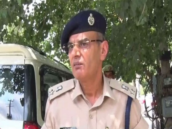 Rajeev Deswal, Deputy Superintendent of Police (DSP) speaking to ANI on Monday. (Photo/ANI)