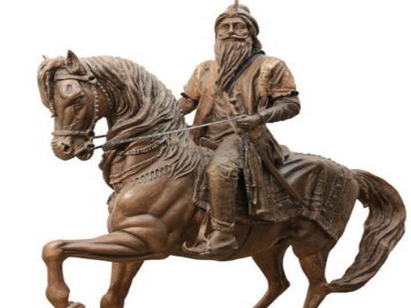 Sculpture of Maharaja Ranjit Singh