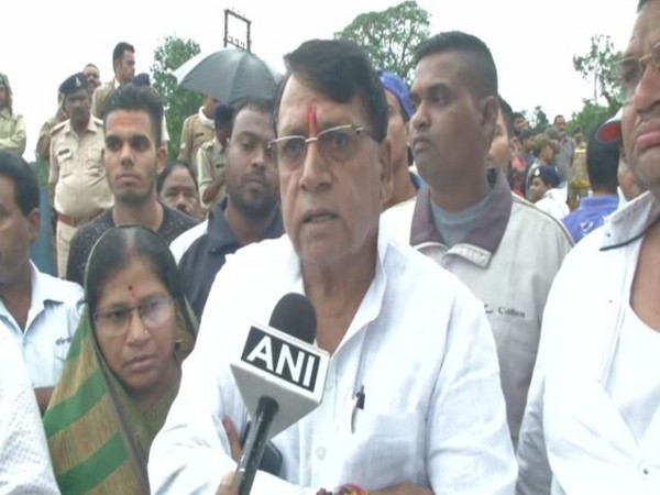 Madhya Pradesh Law Minister while speaking to ANI on Friday. (Photo/ANI)