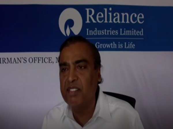 Chairman of Reliance Industries, Mukesh Ambani