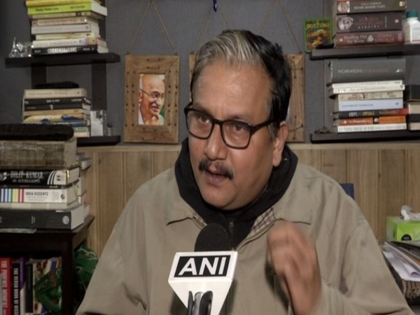 RJD leader Manoj Jha. Photo/ANI