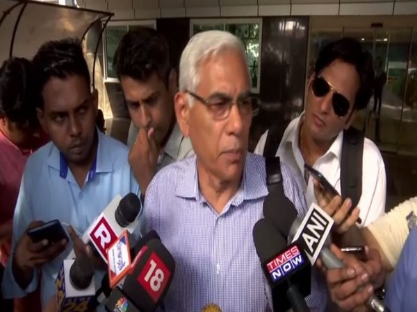 COA chief Vinod Rai talking to media persons in Mumbai on Friday. Photo/ANI