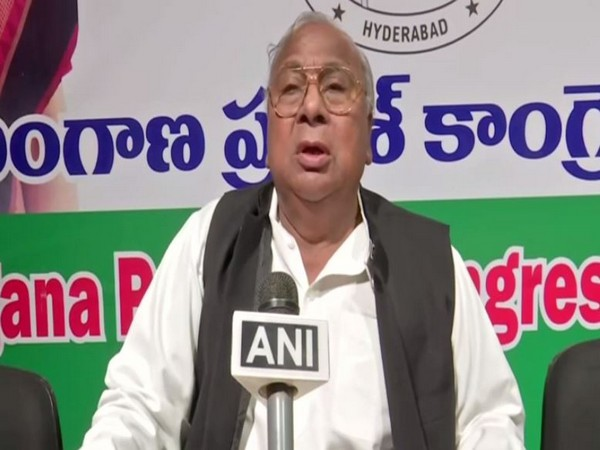 Senior Congress leader V Hanumanth Rao while speaking to ANI on Saturday. (Photo/ANI)