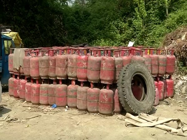 Stock of Liquefied Petroleum Gas (LPG) cylinders (Photo/ANI)