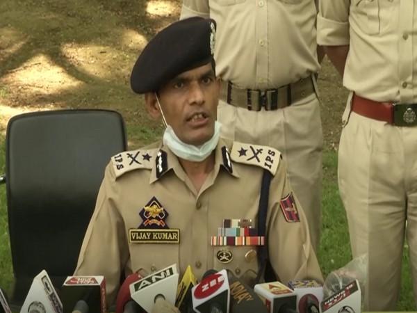 Inspector-General of Police (IGP), Kashmir, Vijay Kumar (Photo/ANI)