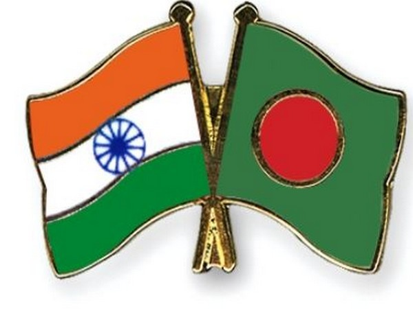 India and Bangladesh flags