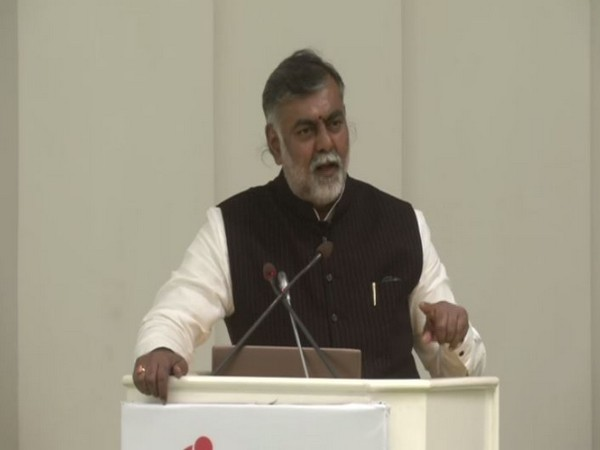Culture and Tourism Minister Prahlad Singh Patel during the conference in New Delhi on Sunday (Photo/ANI)