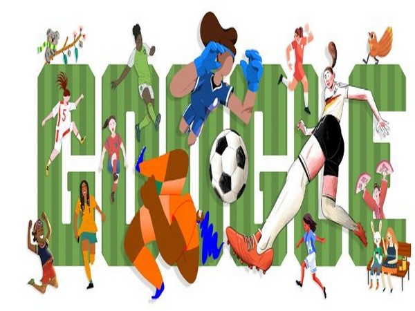 Google Doodle on 2019 Women's World Cup