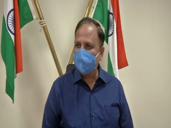 Delhi Health Minister Satyendar Jain. (Photo/ANI)