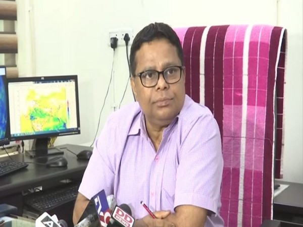 Indian Meteorological Department Director, Jayant Sarkar while addressing the reporters on Monday. (Photo/ANI)