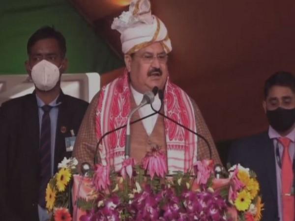 Bharatiya Janata Party (BJP) Chief JP Nadda (Photo/ANI)